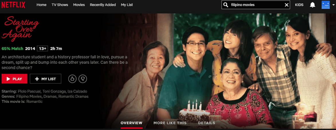 Netflix Philippines Emerging Markets